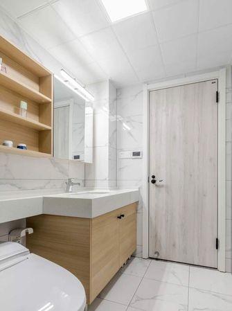 10-15万100平米三室一厅日式风格卫生间欣赏图