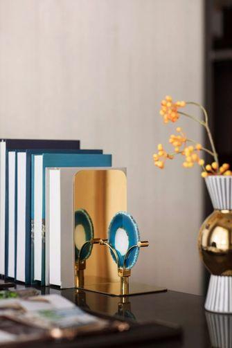 90平米三室两厅法式风格书房图片