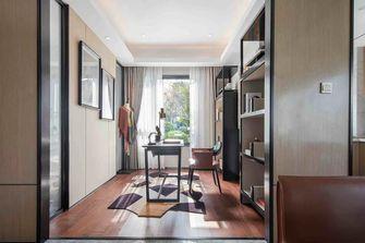豪华型140平米三室一厅美式风格书房装修案例