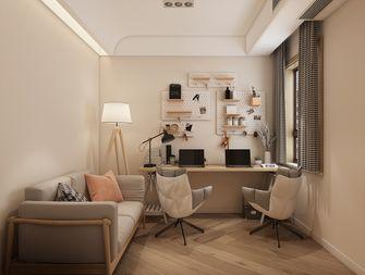 90平米三室两厅日式风格书房图片