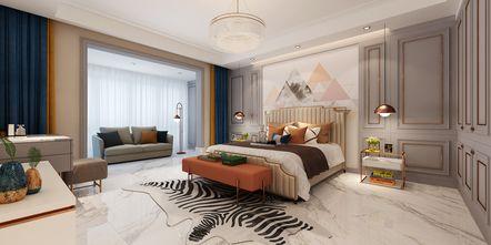 140平米四美式风格卧室装修案例