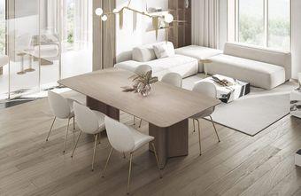 10-15万公寓轻奢风格餐厅图片