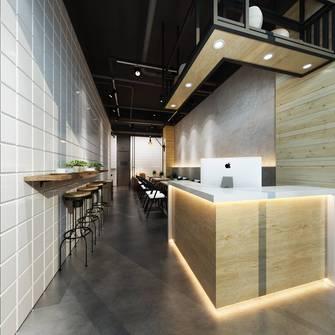 富裕型100平米公装风格餐厅图片