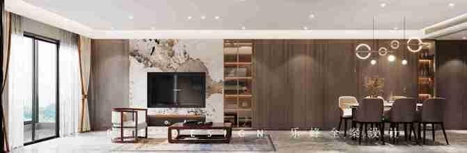 5-10万120平米四室一厅中式风格客厅装修图片大全