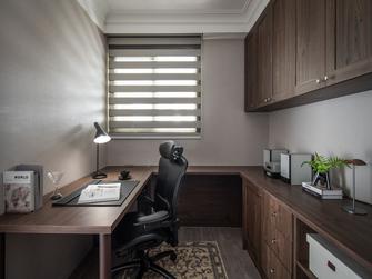豪华型110平米三室两厅新古典风格书房设计图