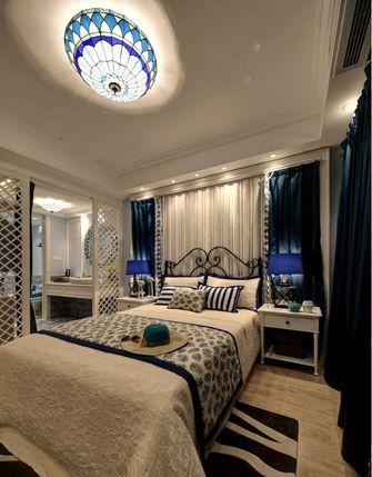 豪华型130平米三室两厅地中海风格卧室装修效果图