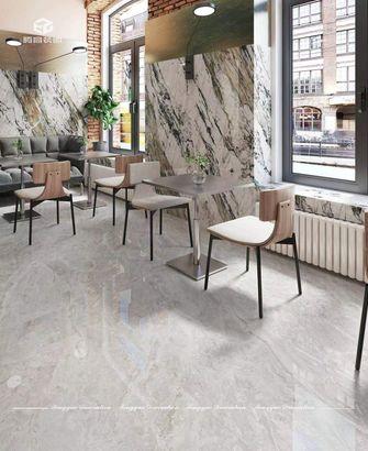 140平米复式公装风格餐厅设计图