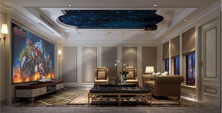 豪华型140平米美式风格影音室图