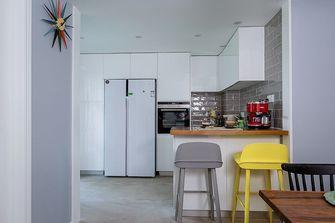 富裕型140平米四室一厅北欧风格厨房图