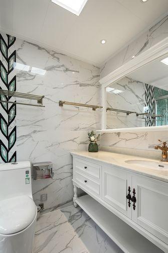 140平米别墅美式风格卫生间设计图