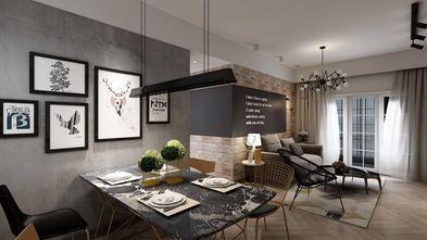 80平米三室两厅工业风风格餐厅装修案例