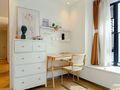 豪华型130平米三室两厅日式风格书房欣赏图