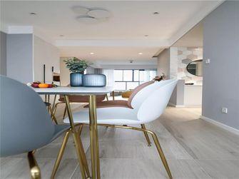 富裕型110平米三室两厅北欧风格餐厅图片