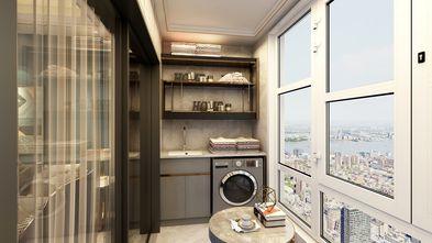 130平米三室两厅轻奢风格阳台设计图