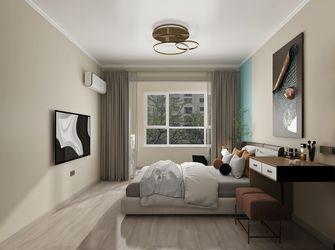 10-15万90平米三室两厅现代简约风格卧室效果图