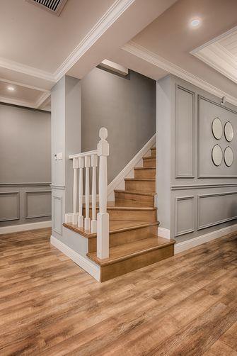 20万以上140平米三欧式风格楼梯间欣赏图