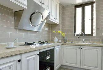 富裕型110平米美式风格厨房图片