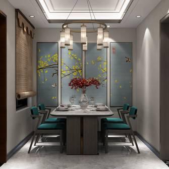 豪华型110平米复式新古典风格餐厅欣赏图