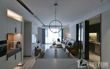 富裕型90平米三室两厅公装风格客厅图