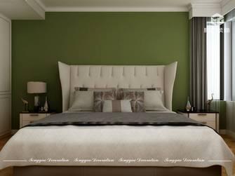 110平米法式风格卧室设计图