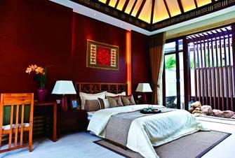 140平米三东南亚风格客厅图