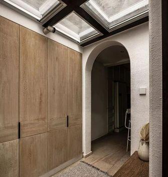 120平米三室两厅田园风格玄关设计图