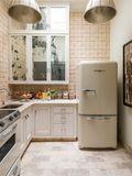 富裕型120平米三室一厅法式风格厨房欣赏图