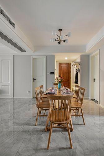 富裕型110平米四室两厅美式风格餐厅装修图片大全