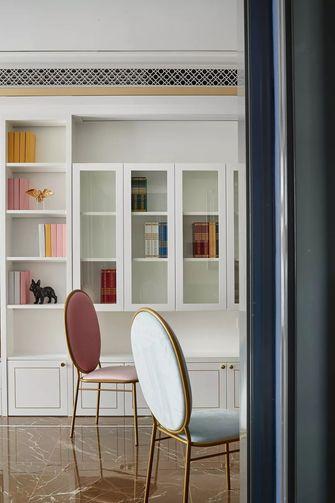 富裕型110平米欧式风格书房欣赏图