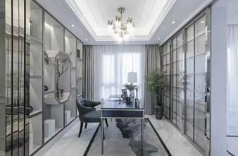 20万以上140平米三室两厅法式风格书房设计图