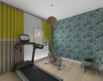 富裕型100平米三室两厅欧式风格健身房图片大全
