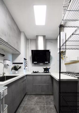 3-5万80平米北欧风格厨房效果图