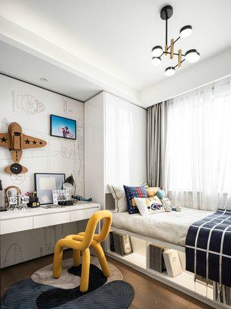 经济型90平米三室两厅轻奢风格青少年房图片