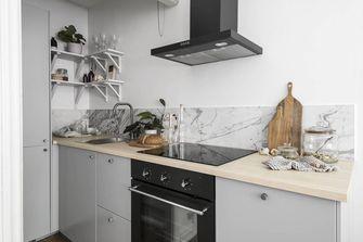 经济型30平米超小户型现代简约风格厨房设计图