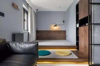 富裕型40平米小户型北欧风格卧室装修图片大全