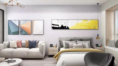 5-10万60平米一室一厅北欧风格客厅效果图