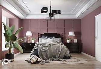 经济型140平米三室一厅新古典风格卧室欣赏图