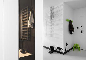 豪华型50平米一室一厅现代简约风格玄关欣赏图