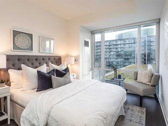10-15万90平米轻奢风格卧室装修案例