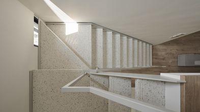 富裕型140平米三现代简约风格楼梯间设计图
