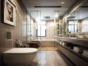 20万以上140平米三室两厅中式风格卫生间装修图片大全