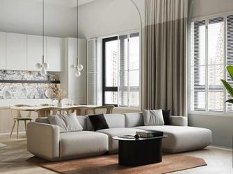 90平米公寓混搭风格客厅装修图片大全