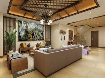 140平米别墅东南亚风格影音室图