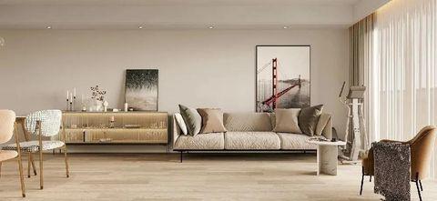 富裕型110平米三室两厅日式风格客厅图