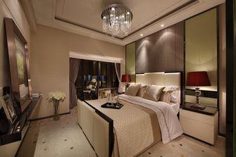 20万以上140平米三室三厅轻奢风格卧室设计图