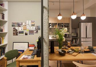 豪华型50平米公寓北欧风格餐厅欣赏图