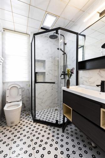 经济型100平米三室两厅现代简约风格卫生间设计图