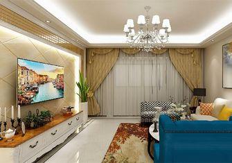 120平米三室一厅欧式风格客厅图