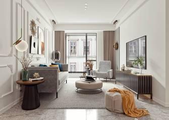 10-15万130平米三室两厅法式风格客厅装修效果图