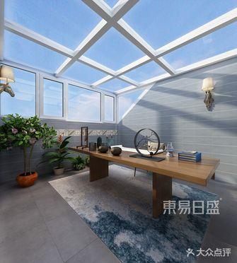140平米复式美式风格阳光房效果图